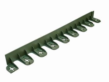 PVC vrtni ivičnjak TIP 45 - 45 X 800 mm - zelena  kom