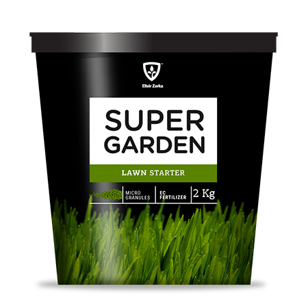Super Garden Travnjak 2 kg kanta  - Starter  kom