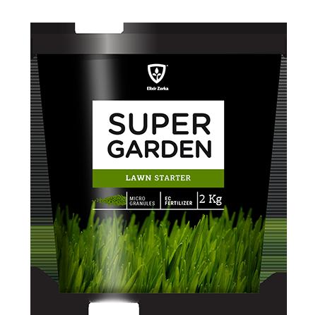 Super Garden Travnjak 4 kg - Starter  kom